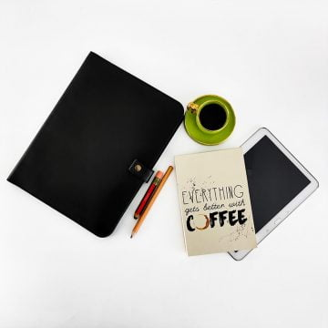 Deri M1 MacBook Organizer Evrak Çantası Tablet Kılıfı