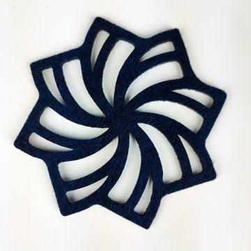 lacivert geometrik
