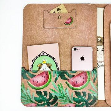 Misingpiece MacBook Organizer Evrak Çantası Tablet Kılıfı